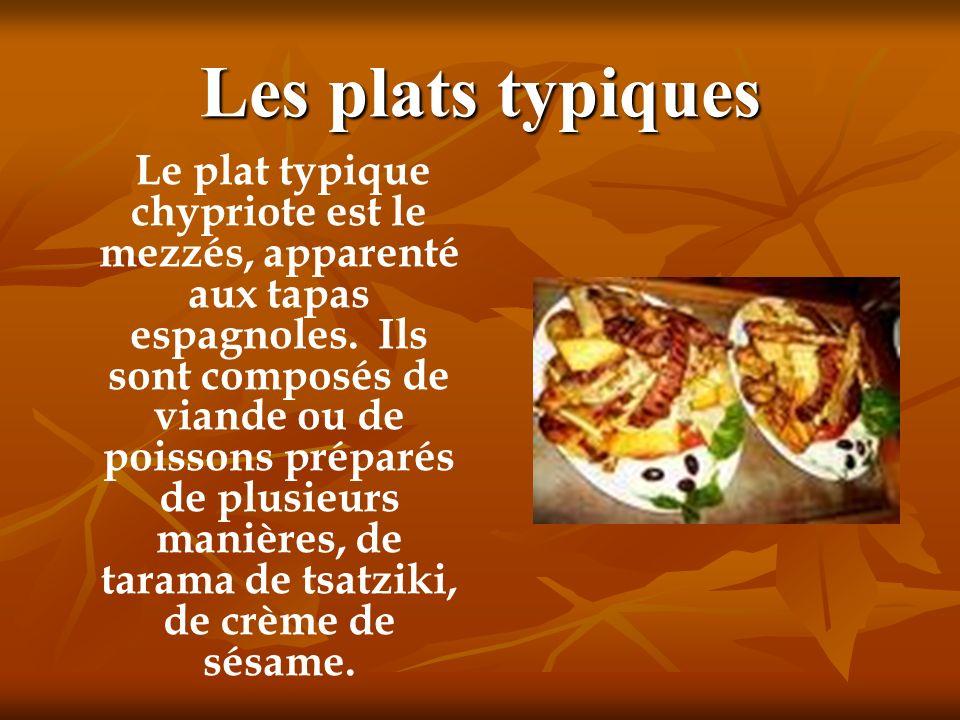 Les plats typiques