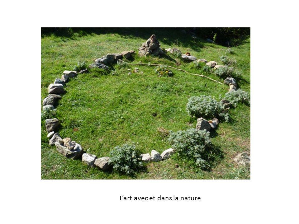 L'art avec et dans la nature