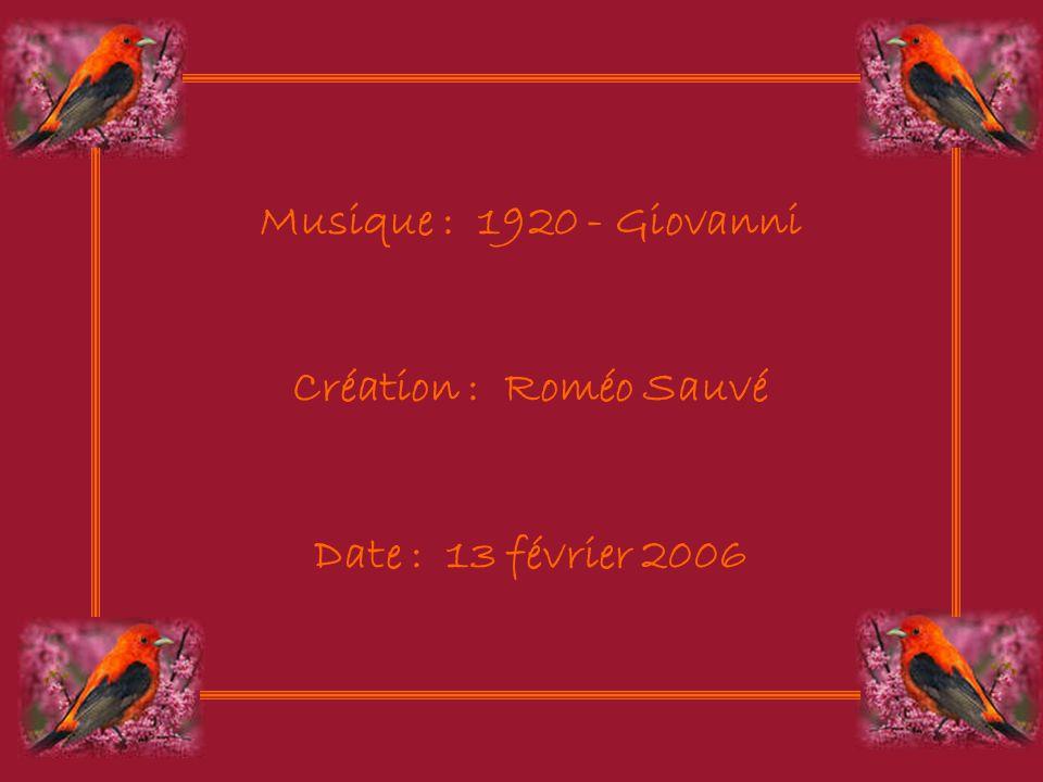 Musique : 1920 - Giovanni Création : Roméo Sauvé Date : 13 février 2006