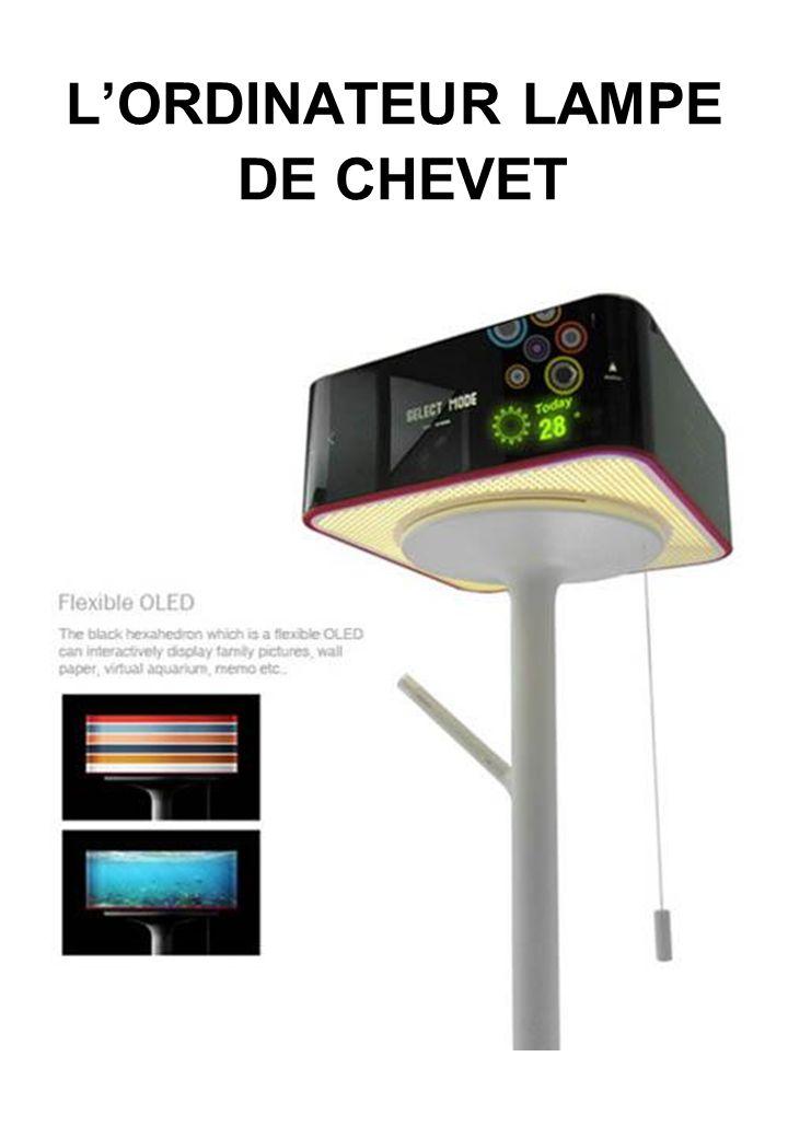 L'ORDINATEUR LAMPE DE CHEVET