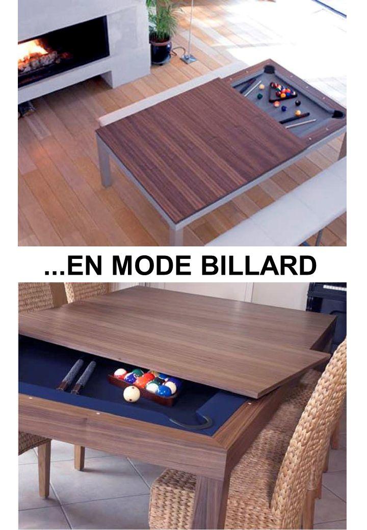 ...EN MODE BILLARD