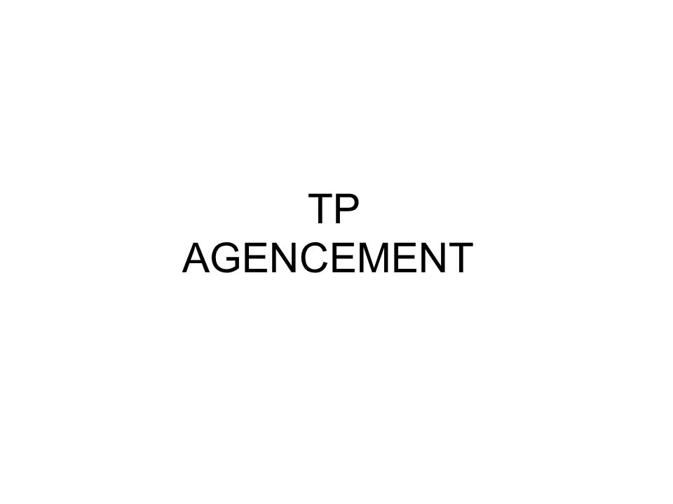 TP AGENCEMENT