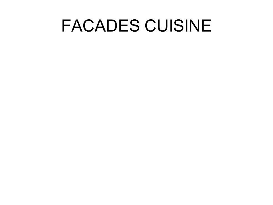 FACADES CUISINE