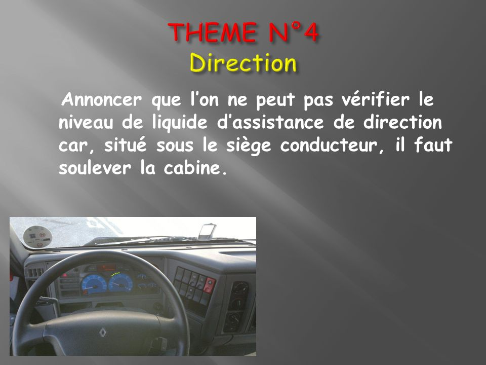 THEME N°4 Direction
