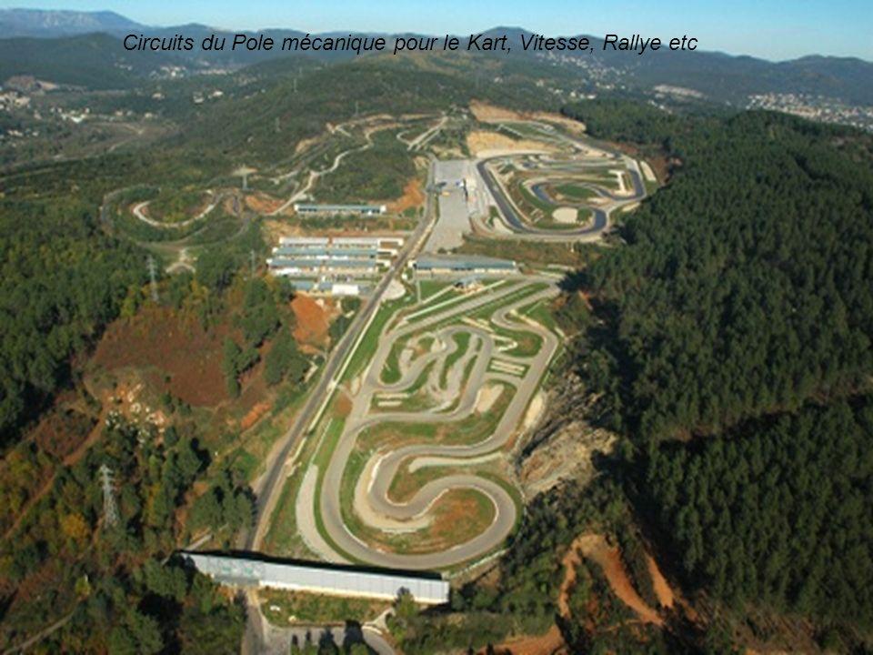 Circuits du Pole mécanique pour le Kart, Vitesse, Rallye etc
