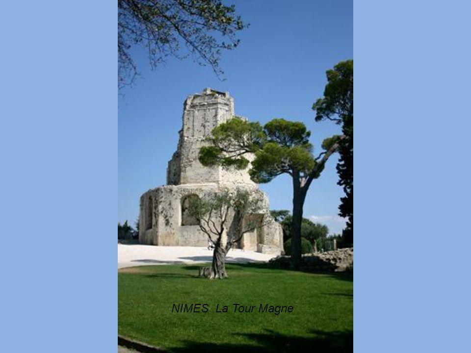 NIMES La Tour Magne