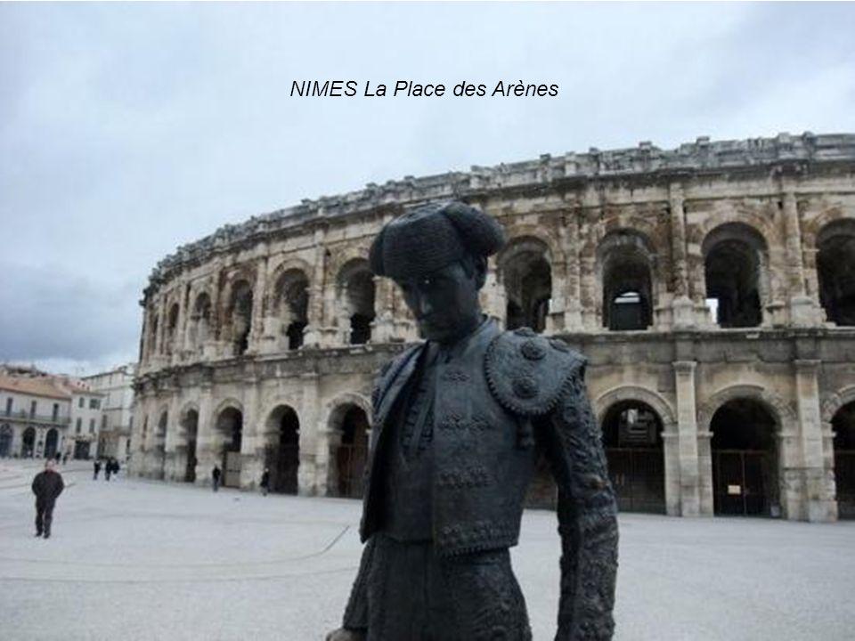 NIMES La Place des Arènes
