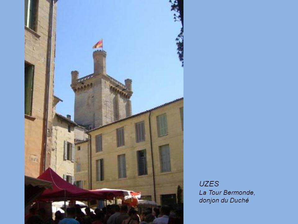 UZES La Tour Bermonde, donjon du Duché