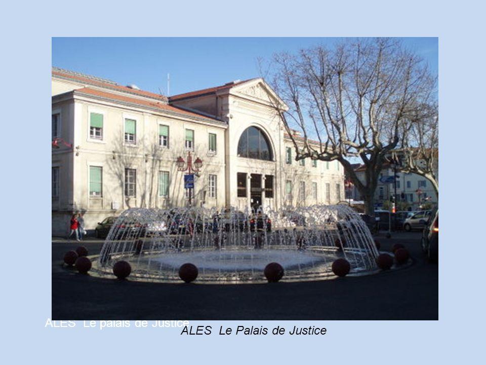 ALES Le palais de Justice