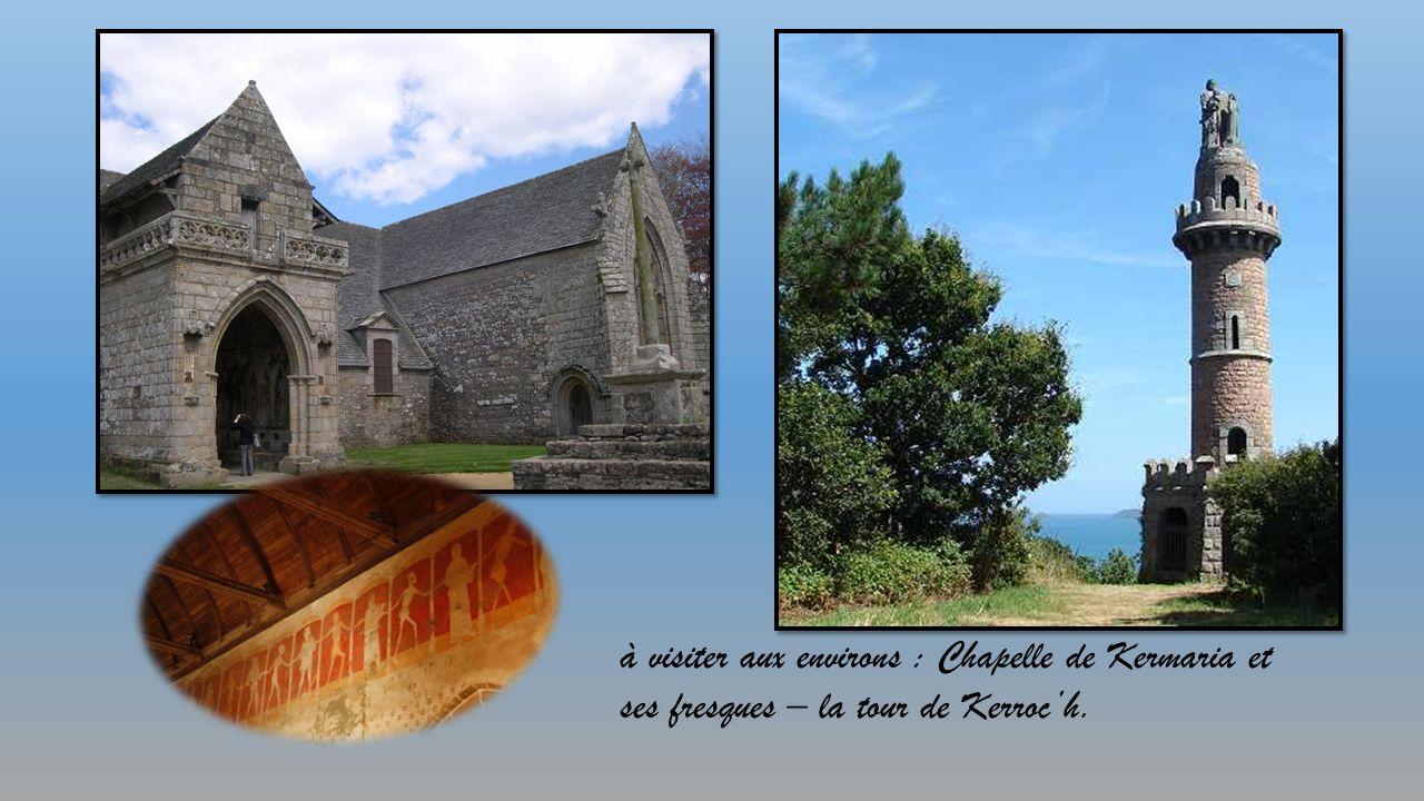 à visiter aux environs : Chapelle de Kermaria et