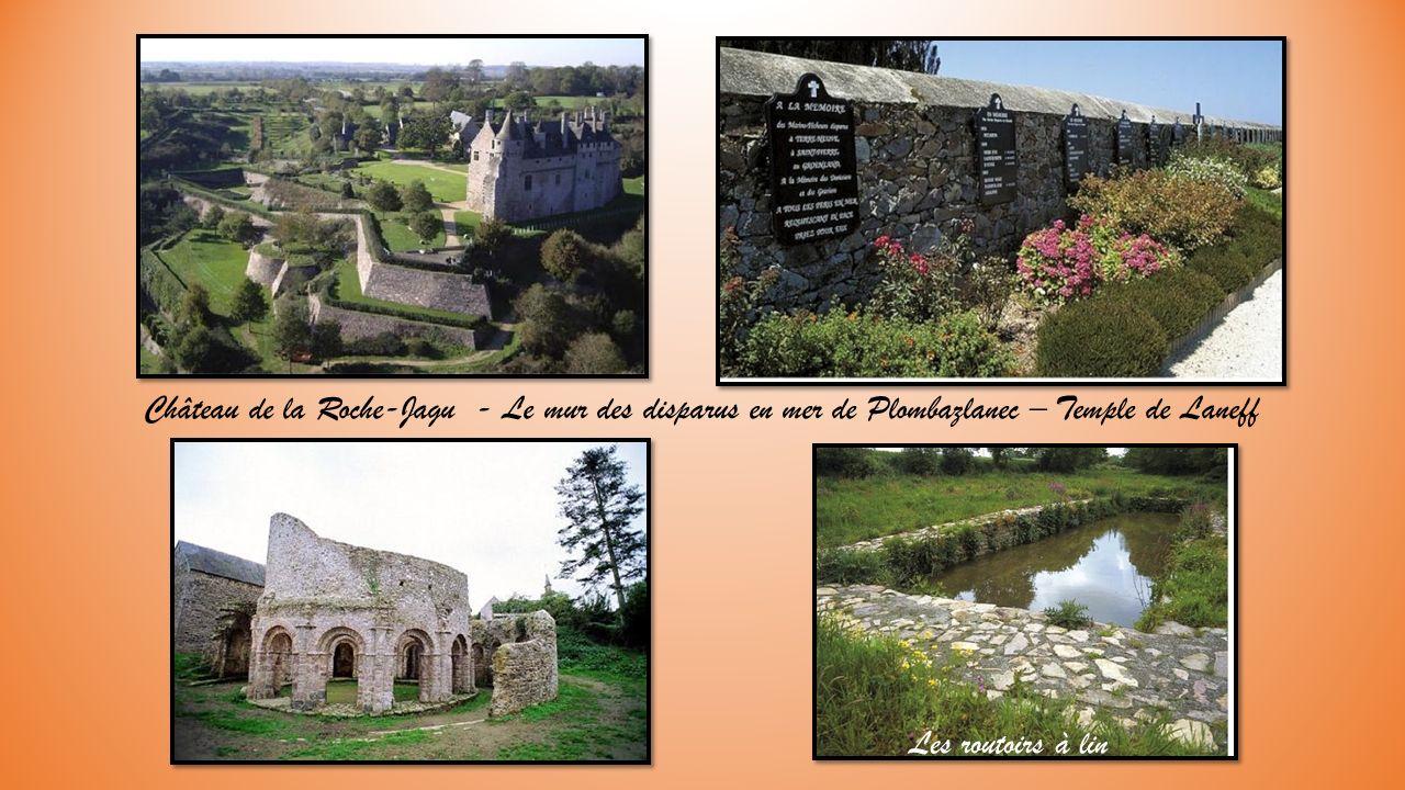 Château de la Roche-Jagu - Le mur des disparus en mer de Plombazlanec – Temple de Laneff