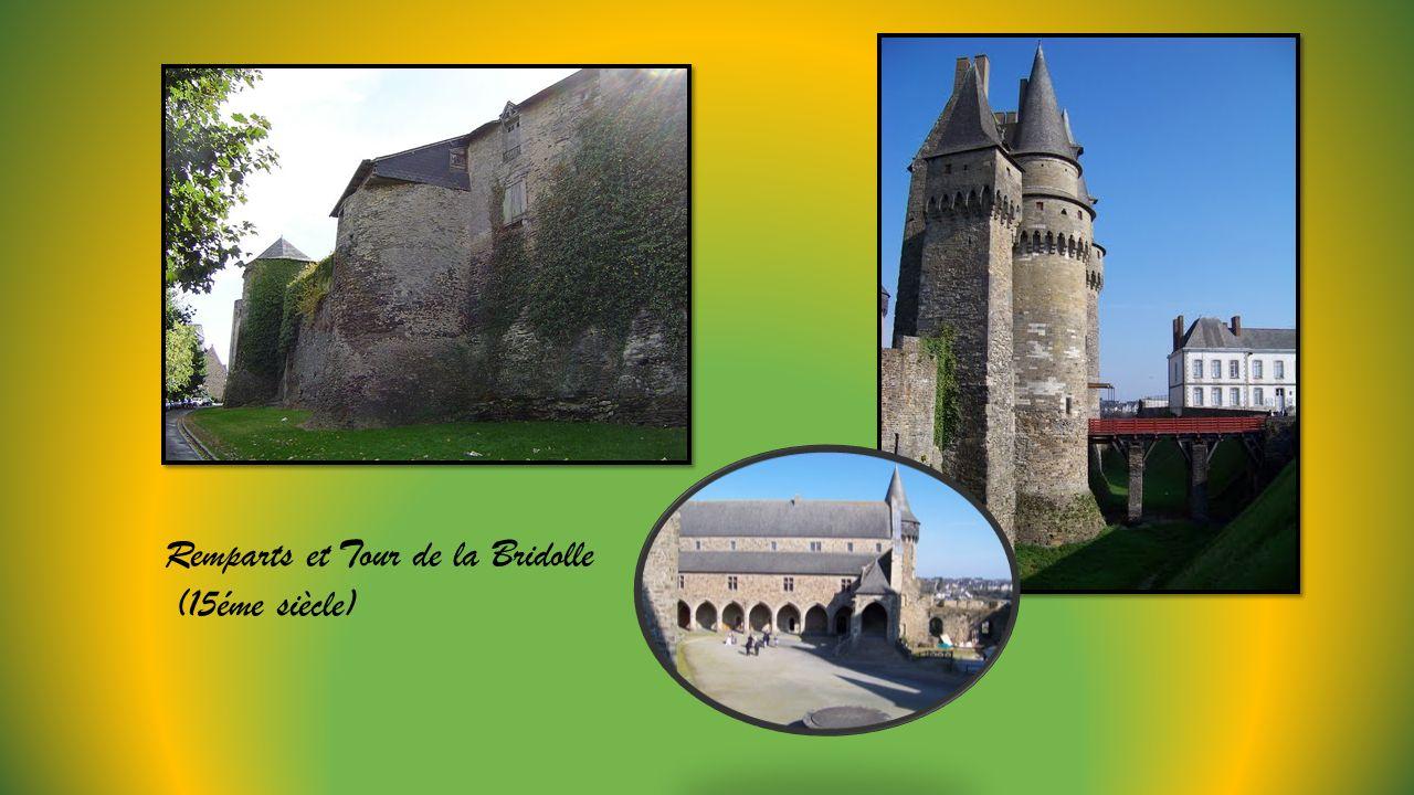 Remparts et Tour de la Bridolle