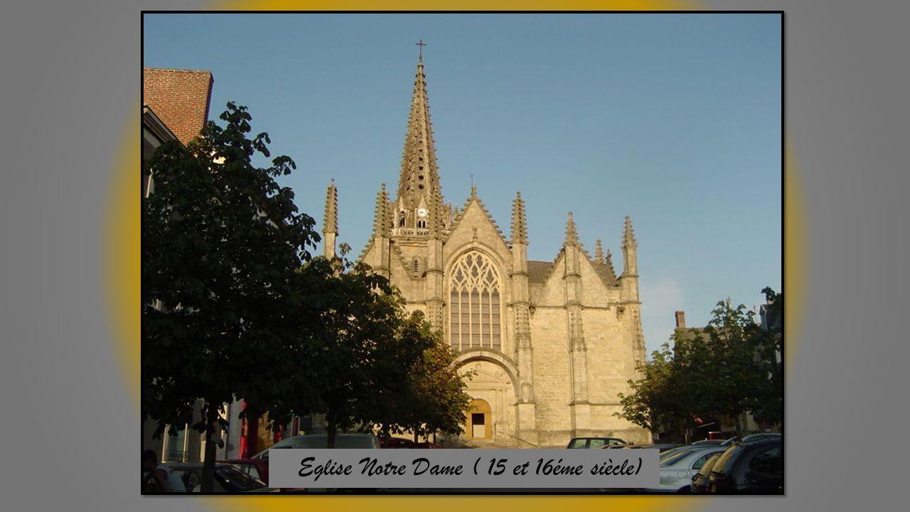 Eglise Notre Dame ( 15 et 16éme siècle)