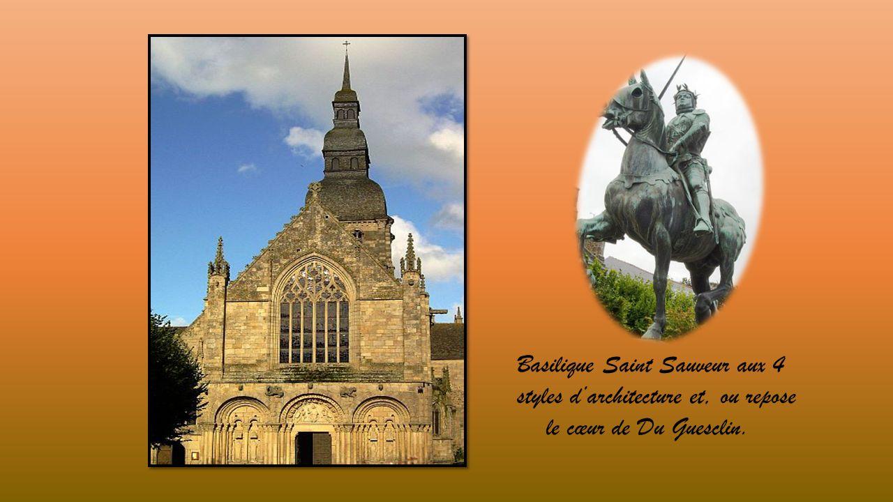 Basilique Saint Sauveur aux 4 styles d'architecture et, ou repose