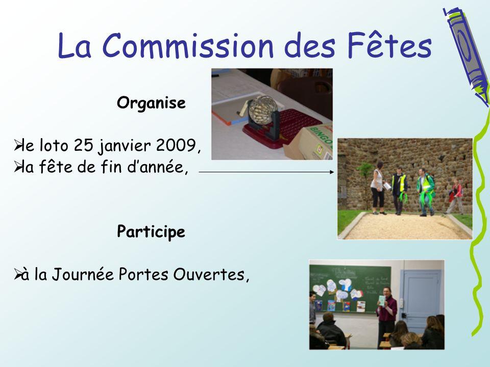 La Commission des Fêtes