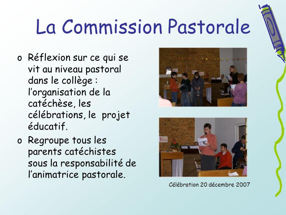 La Commission Pastorale