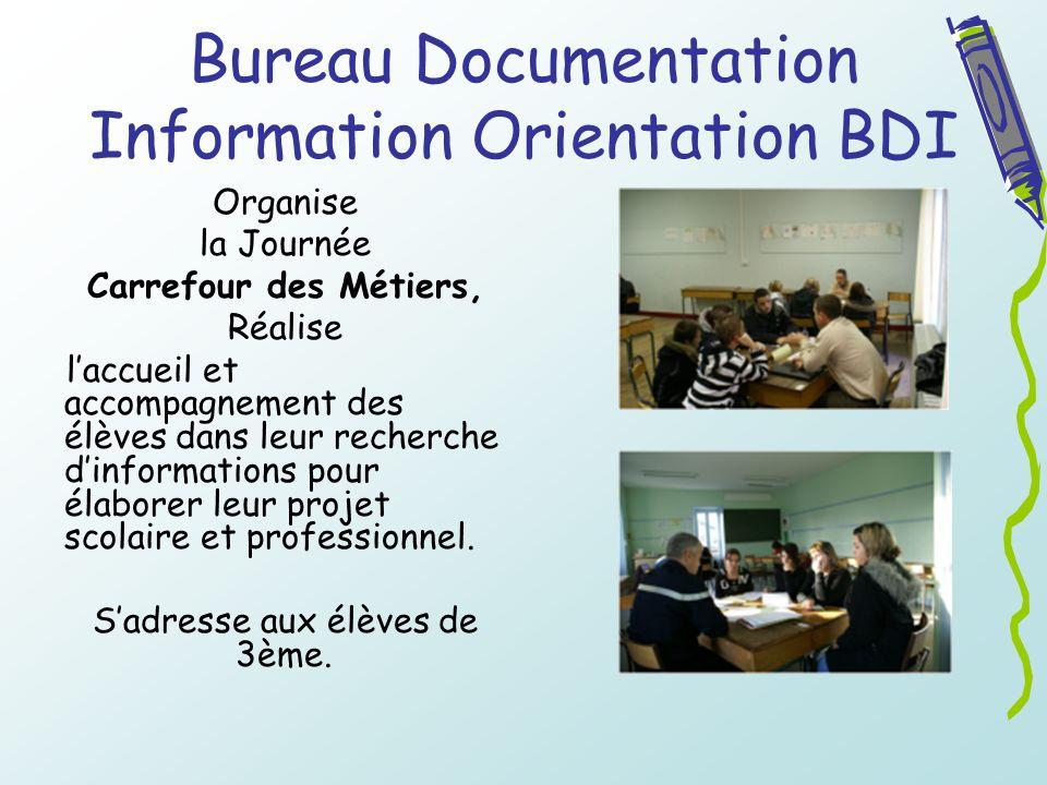 Bureau Documentation Information Orientation BDI