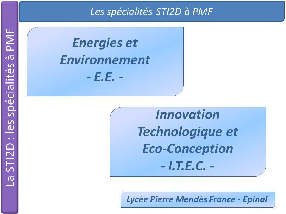 Energies et Environnement - E.E. -