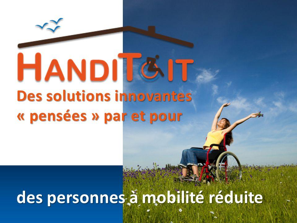 des personnes à mobilité réduite
