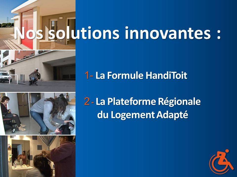 Nos solutions innovantes :