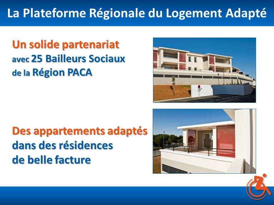 La Plateforme Régionale du Logement Adapté