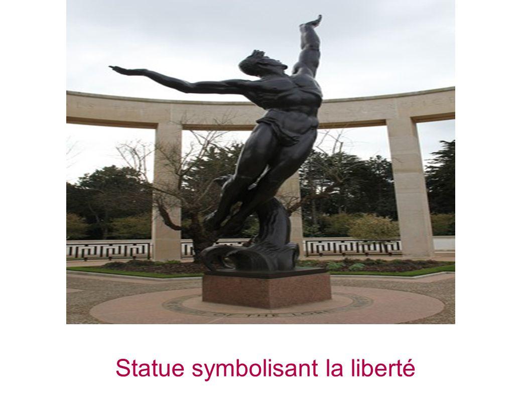 Statue symbolisant la liberté