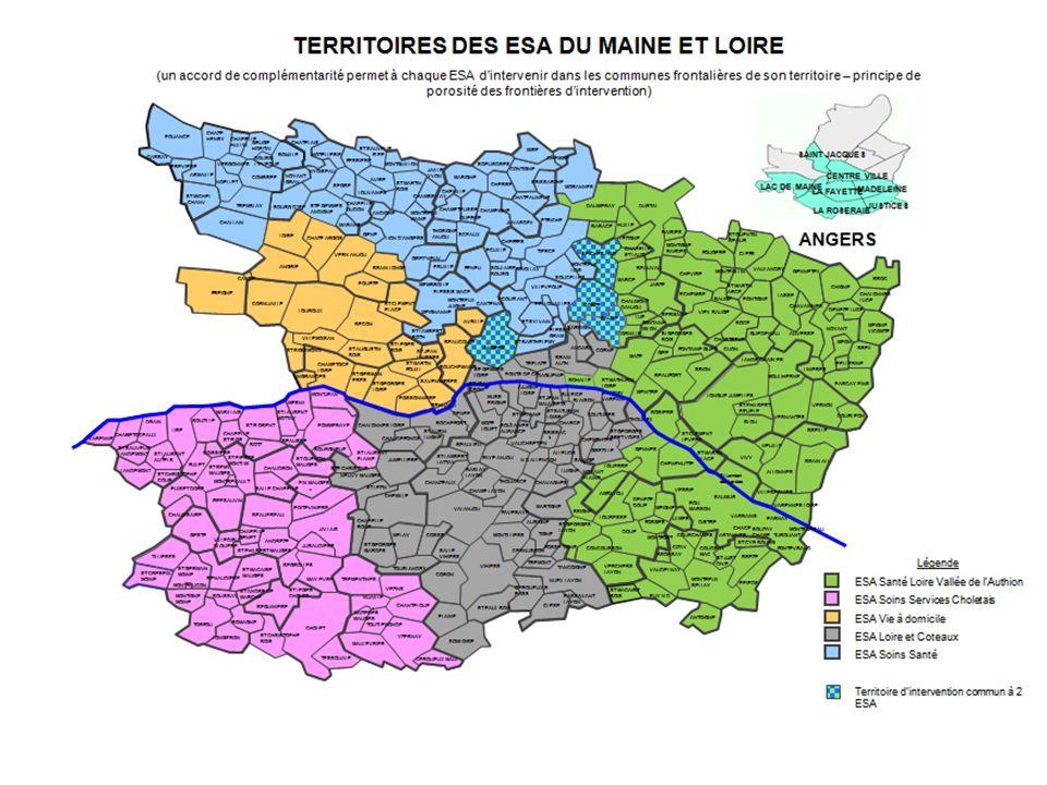 La particularité du 49 est d'avoir dès le départ participé à l'expérimentation en présentant un projet porté par l'USSIAD dans lequel 3 équipes (Angers – Cholet – Longué), couvraient l'ensemble du dptmt.