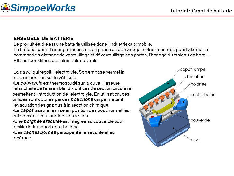 Tutoriel : Capot de batterie