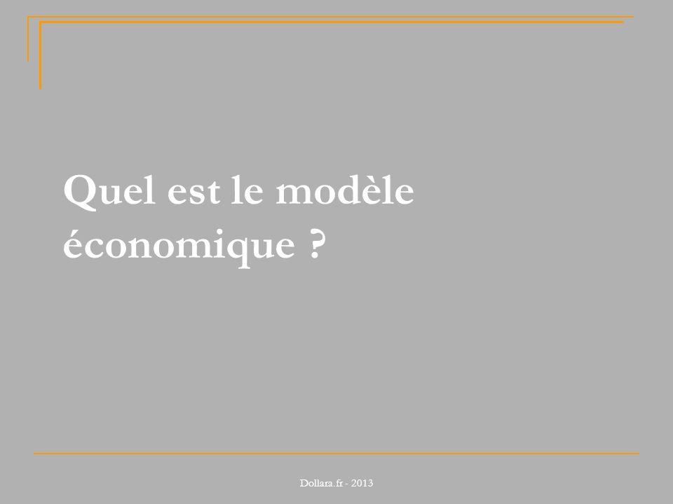 Quel est le modèle économique