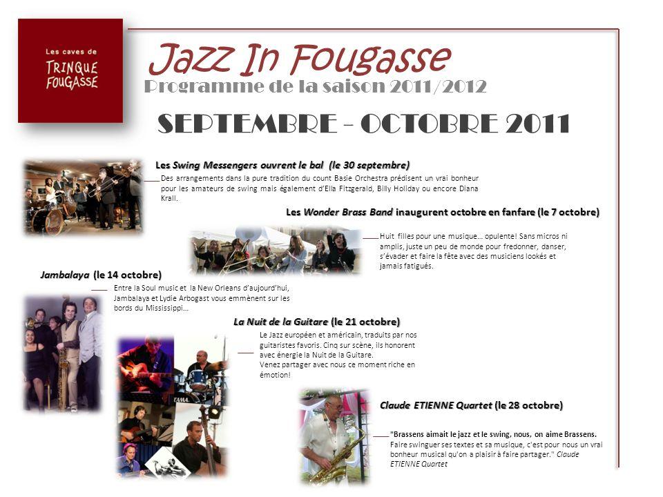 Programme de la saison 2011/2012