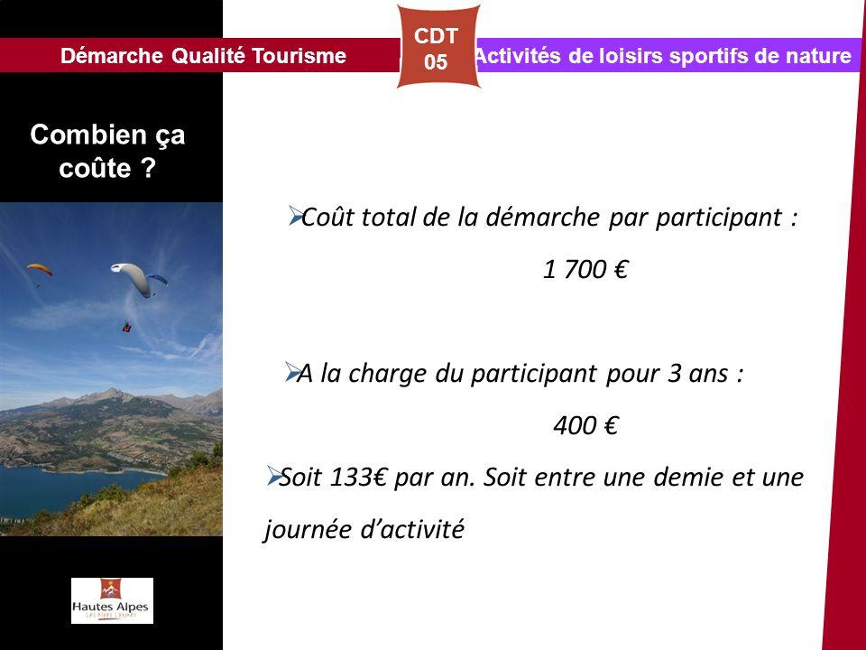 Démarche Qualité Tourisme Activités de loisirs sportifs de nature