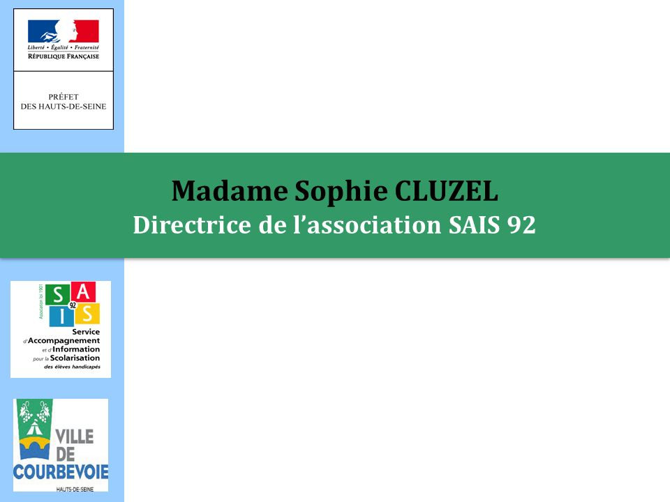 Directrice de l'association SAIS 92