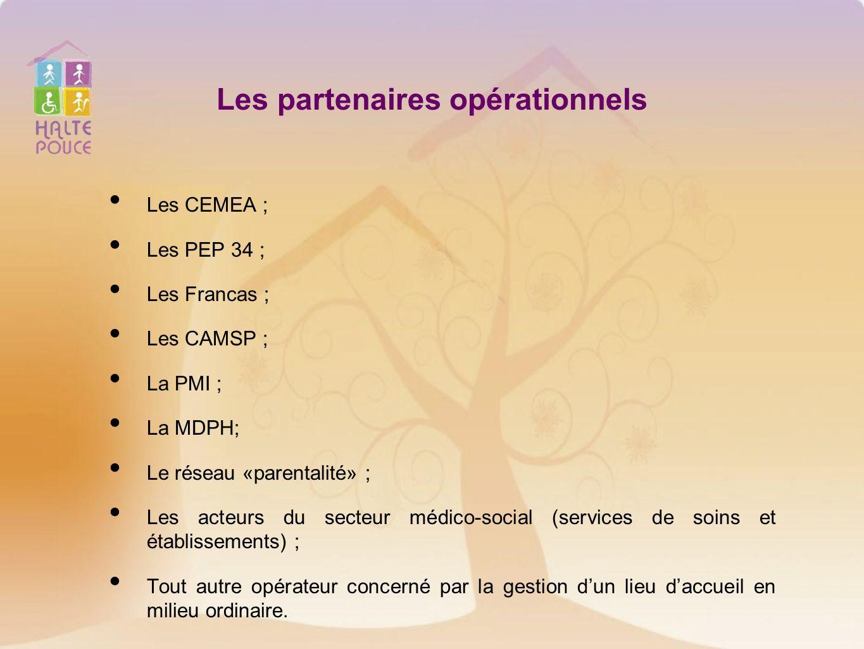 Les partenaires opérationnels