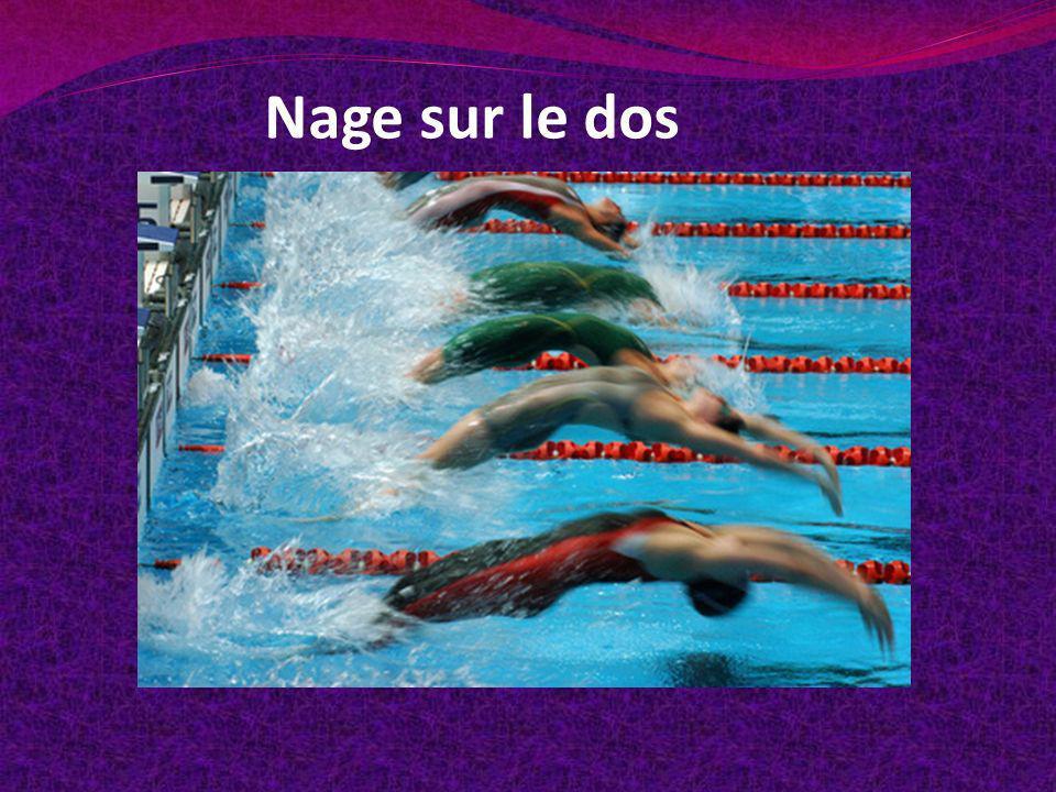 Nage sur le dos