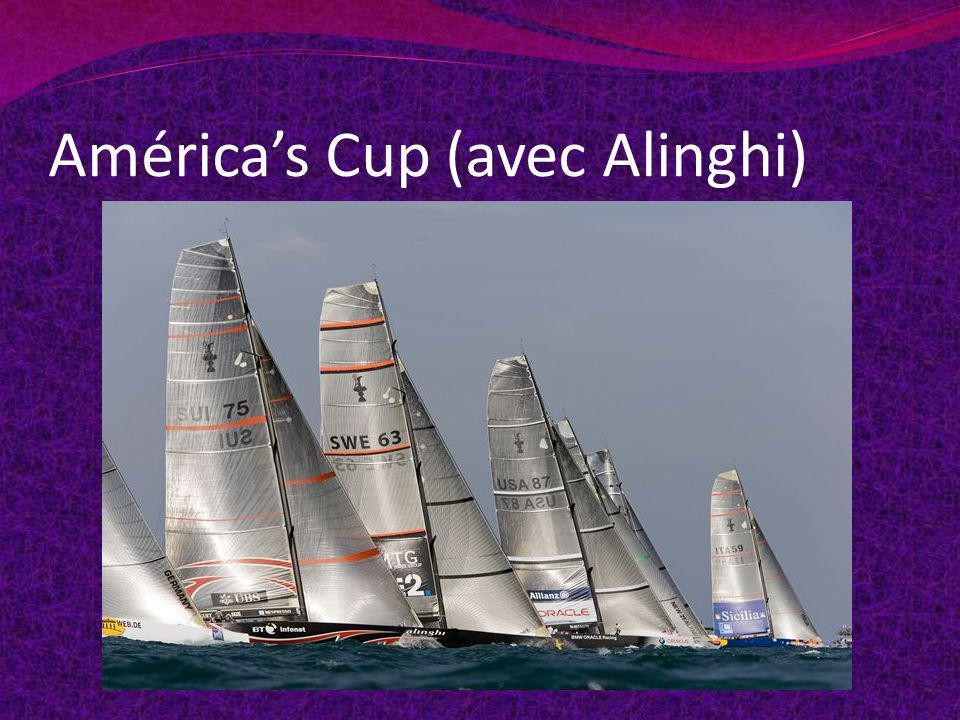 América's Cup (avec Alinghi)