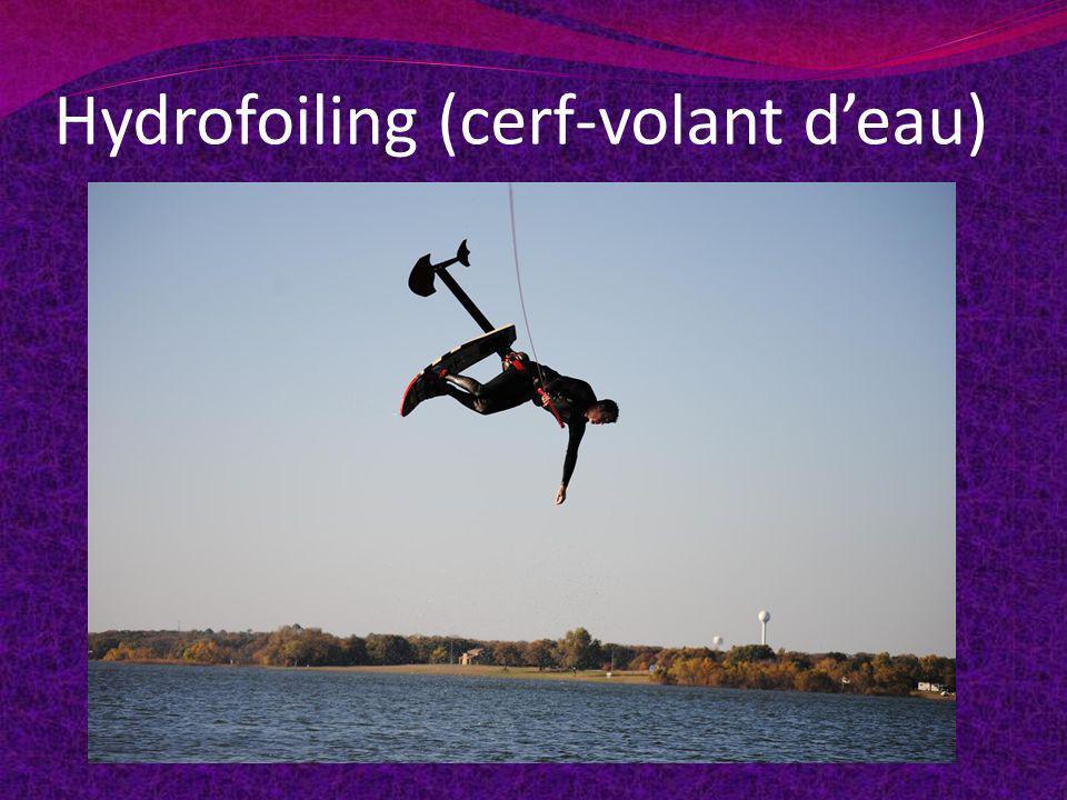Hydrofoiling (cerf-volant d'eau)
