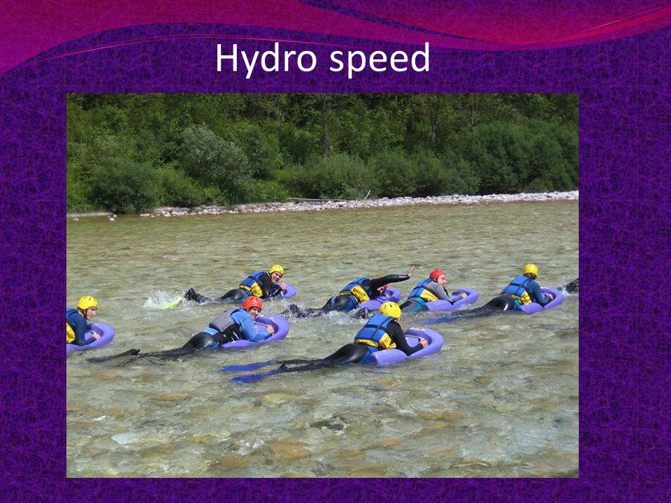 Hydro speed