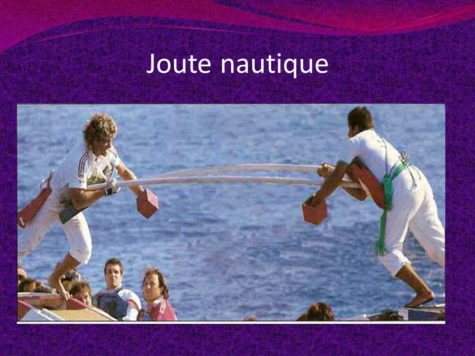 Joute nautique