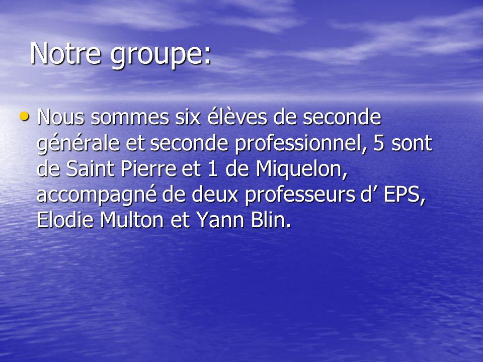 Notre groupe: