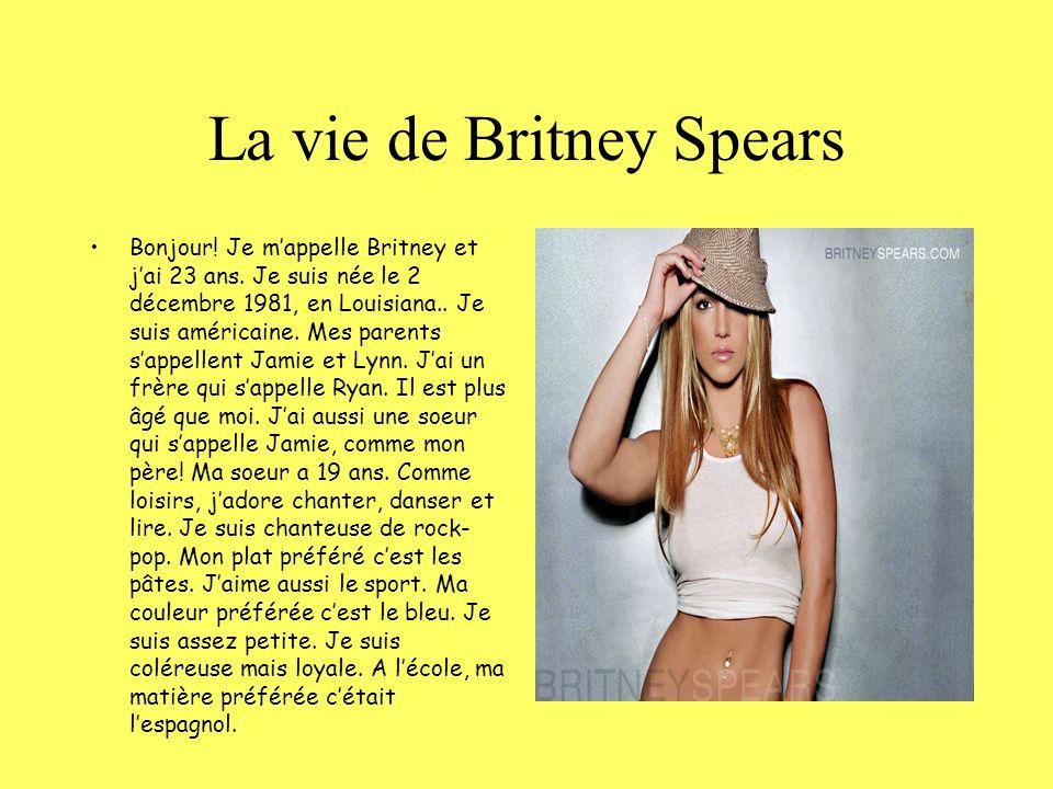 La vie de Britney Spears