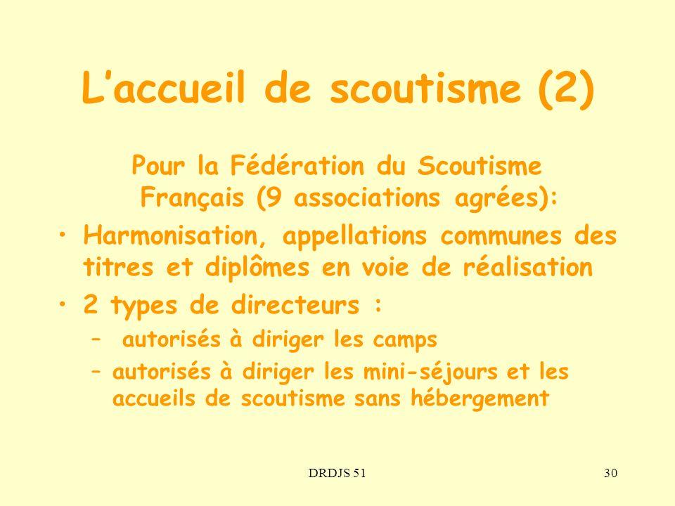 L'accueil de scoutisme (2)
