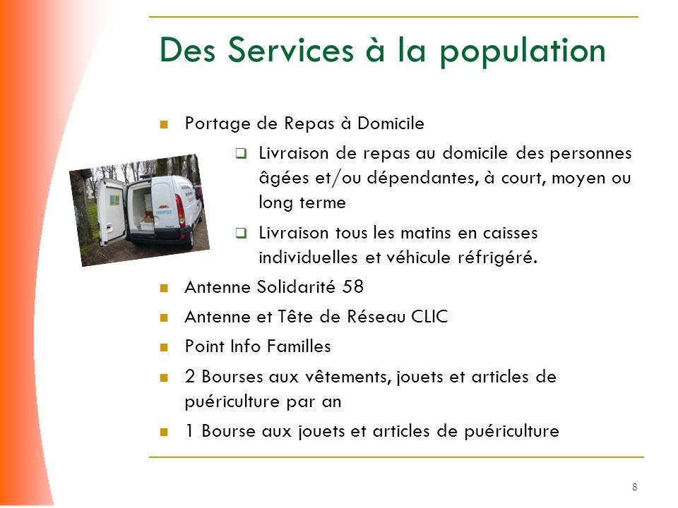 Des Services à la population