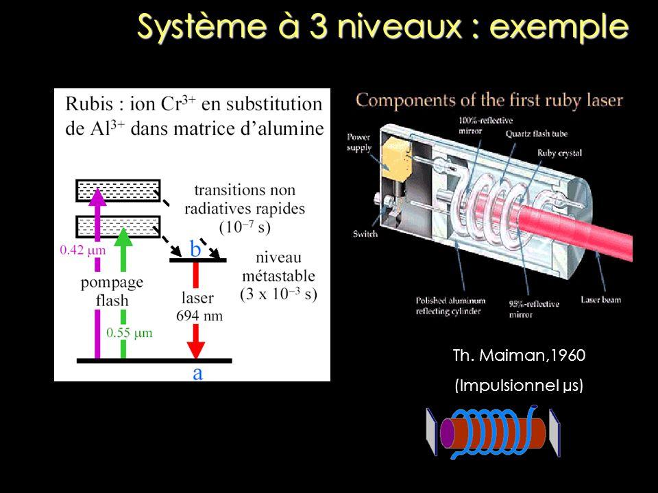 Système à 3 niveaux : exemple