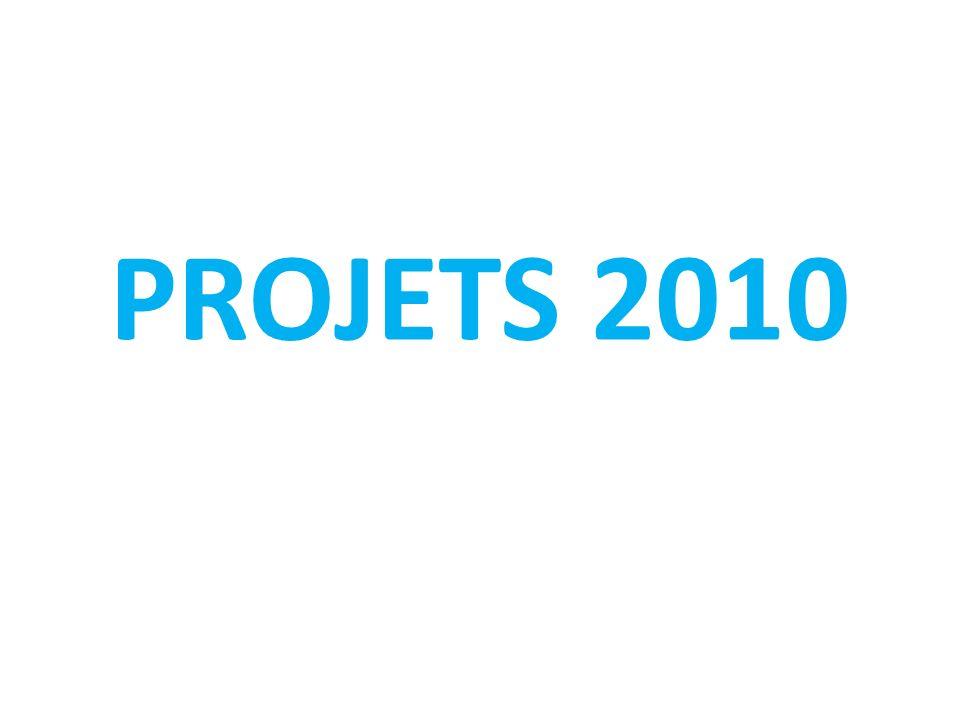 PROJETS 2010