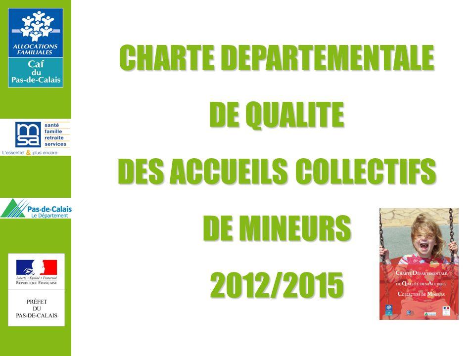 CHARTE DEPARTEMENTALE DE QUALITE DES ACCUEILS COLLECTIFS DE MINEURS