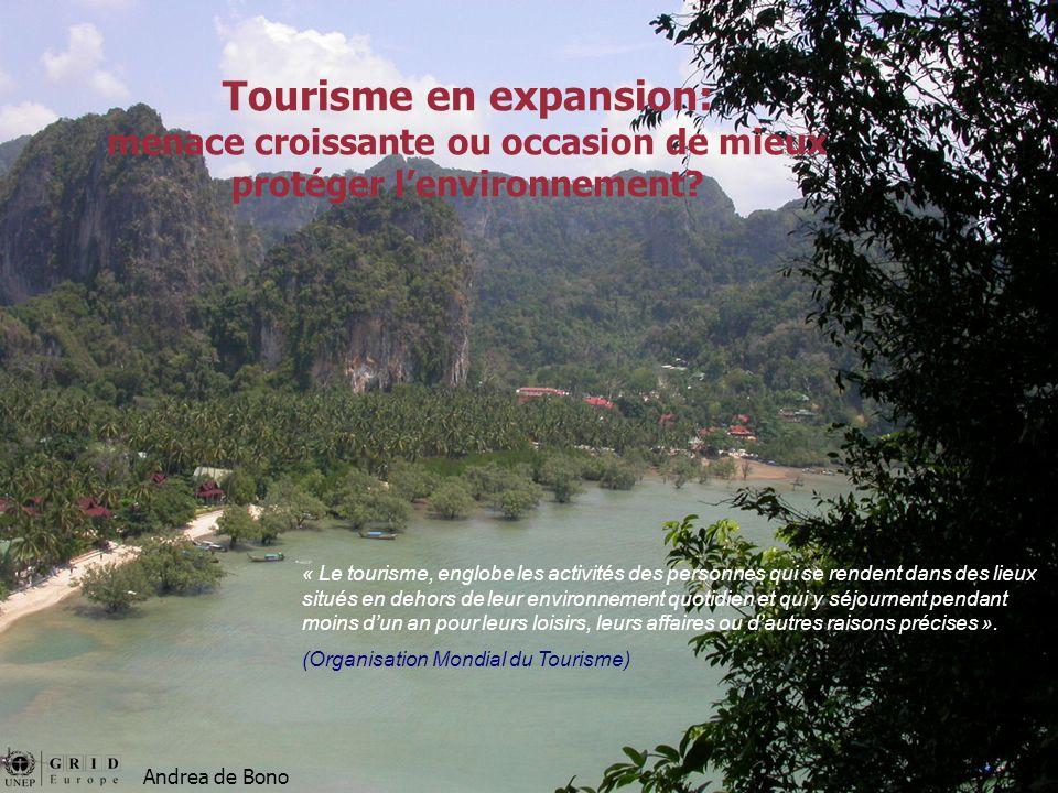 Tourisme en expansion: menace croissante ou occasion de mieux protéger l'environnement