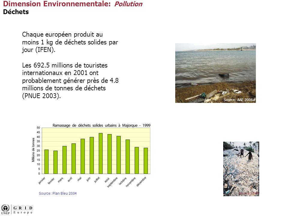 Dimension Environnementale: Pollution Déchets