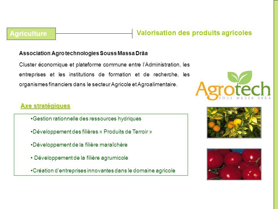 Valorisation des produits agricoles