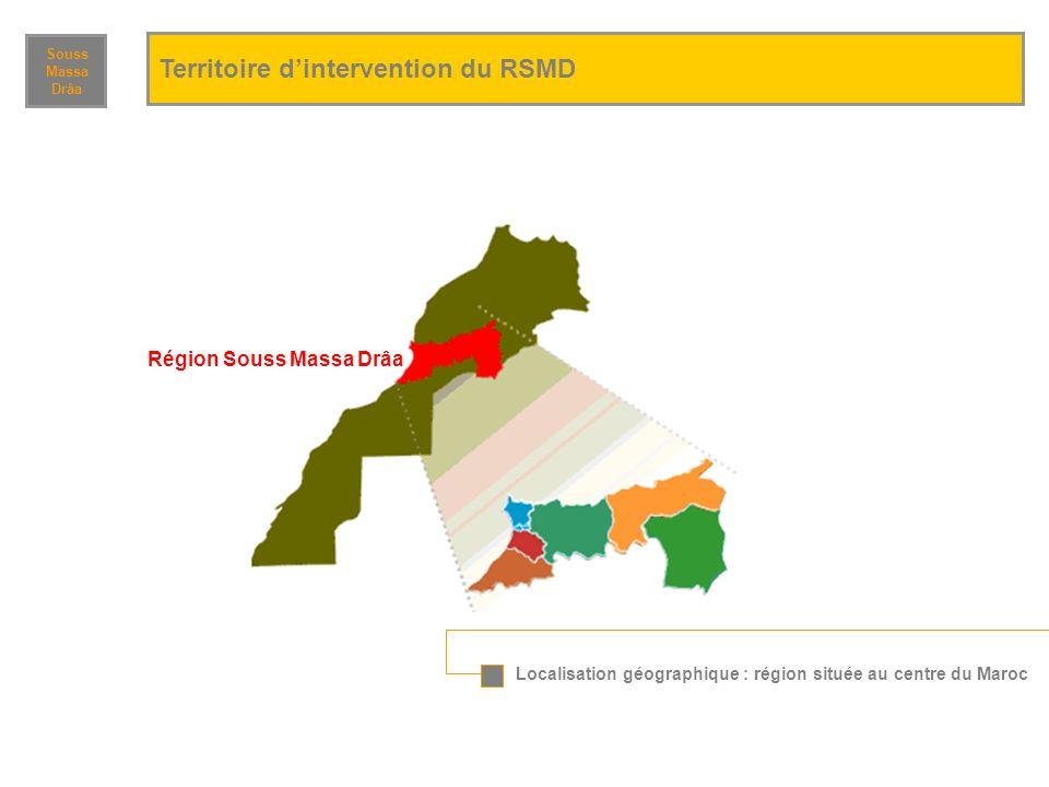 Territoire d'intervention du RSMD