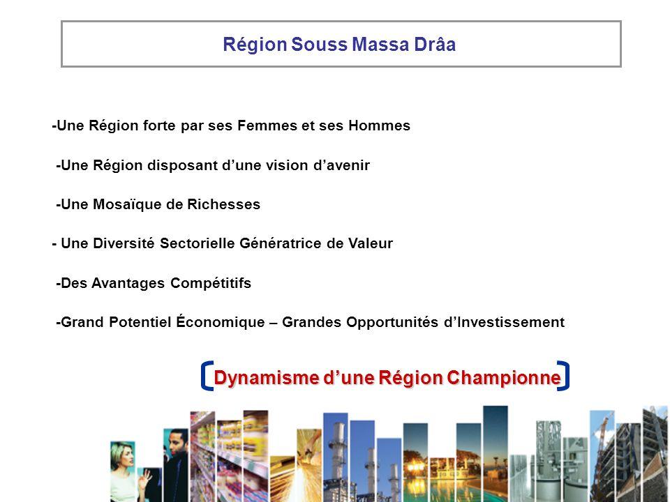 Région Souss Massa Drâa Dynamisme d'une Région Championne